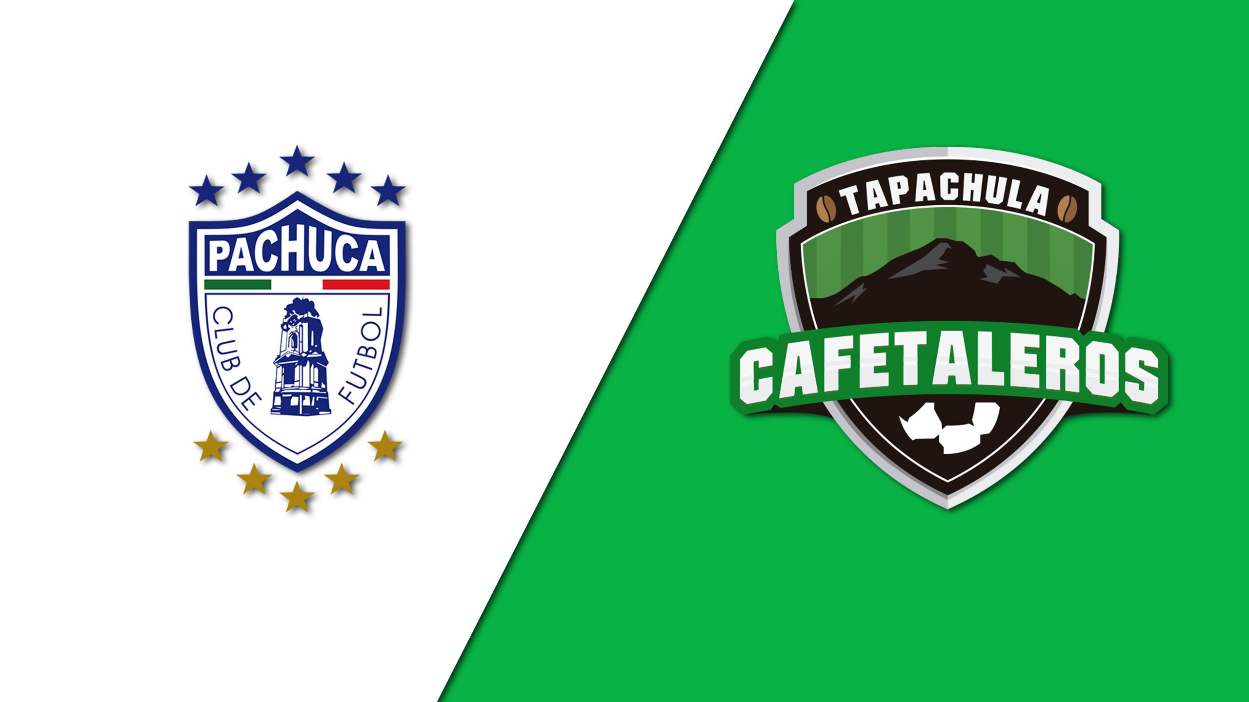 In Spanish - Tuzos del Pachuca vs. Cafetaleros de Tapachula (Round of 16) (Copa MX)