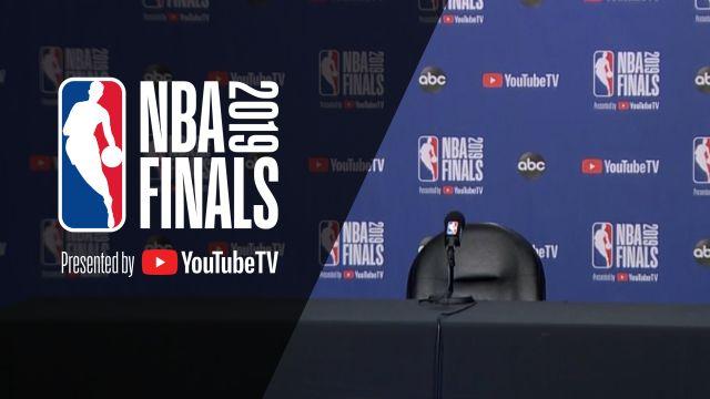 NBA Finals 2019: Pre-Game Press Conferences