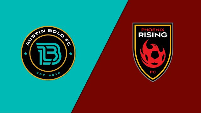 Austin Bold FC vs. Phoenix Rising FC (USL Championship)