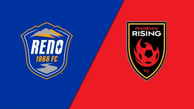 Reno 1868 FC vs. Phoenix Rising FC (USL Championship)