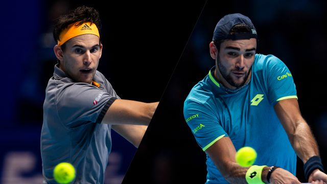 (5) Thiem vs (8) Berrettini