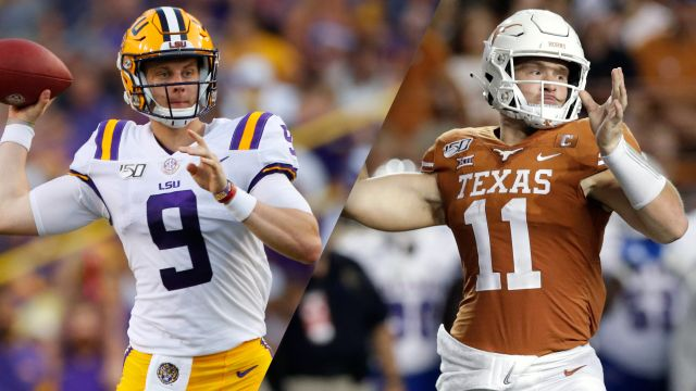 #6 LSU vs. #9 Texas (Football)
