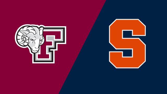 Fordham vs. Syracuse (W Soccer)