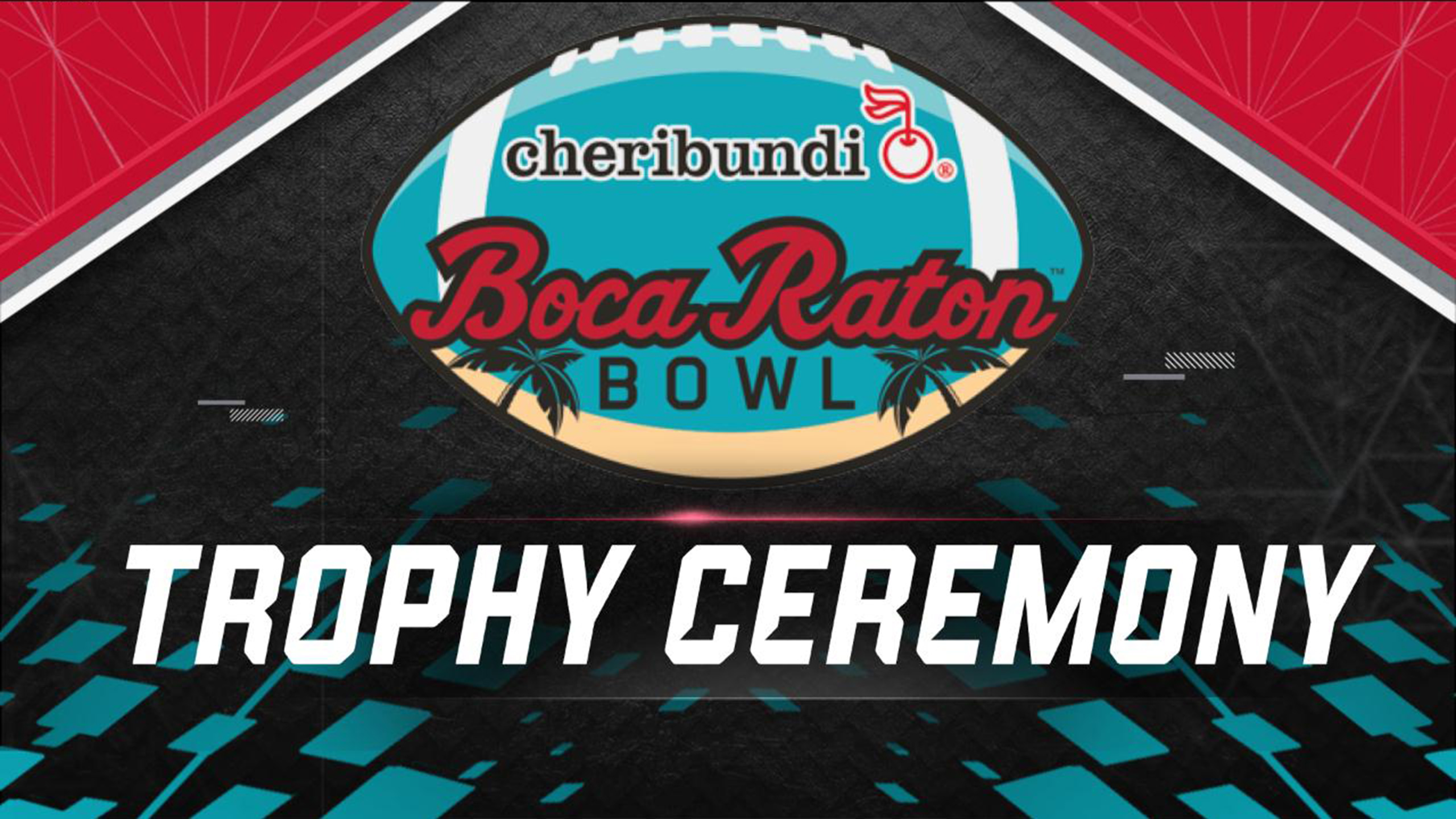 Cheribundi Boca Raton Bowl Trophy Ceremony Presented by Capital One