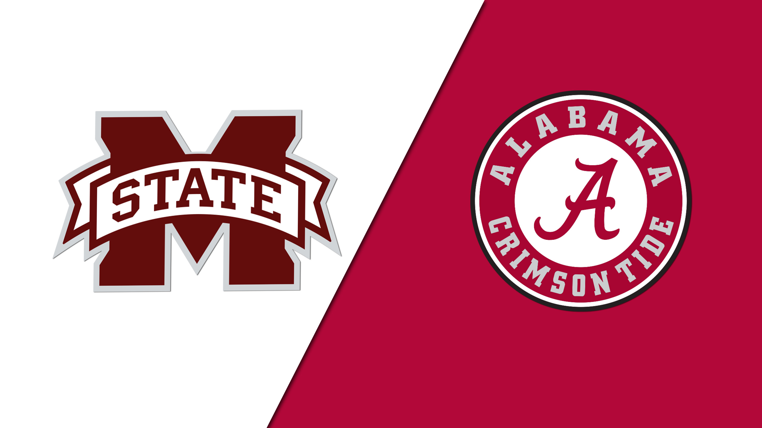 Mississippi State vs. Alabama (Football) (re-air)