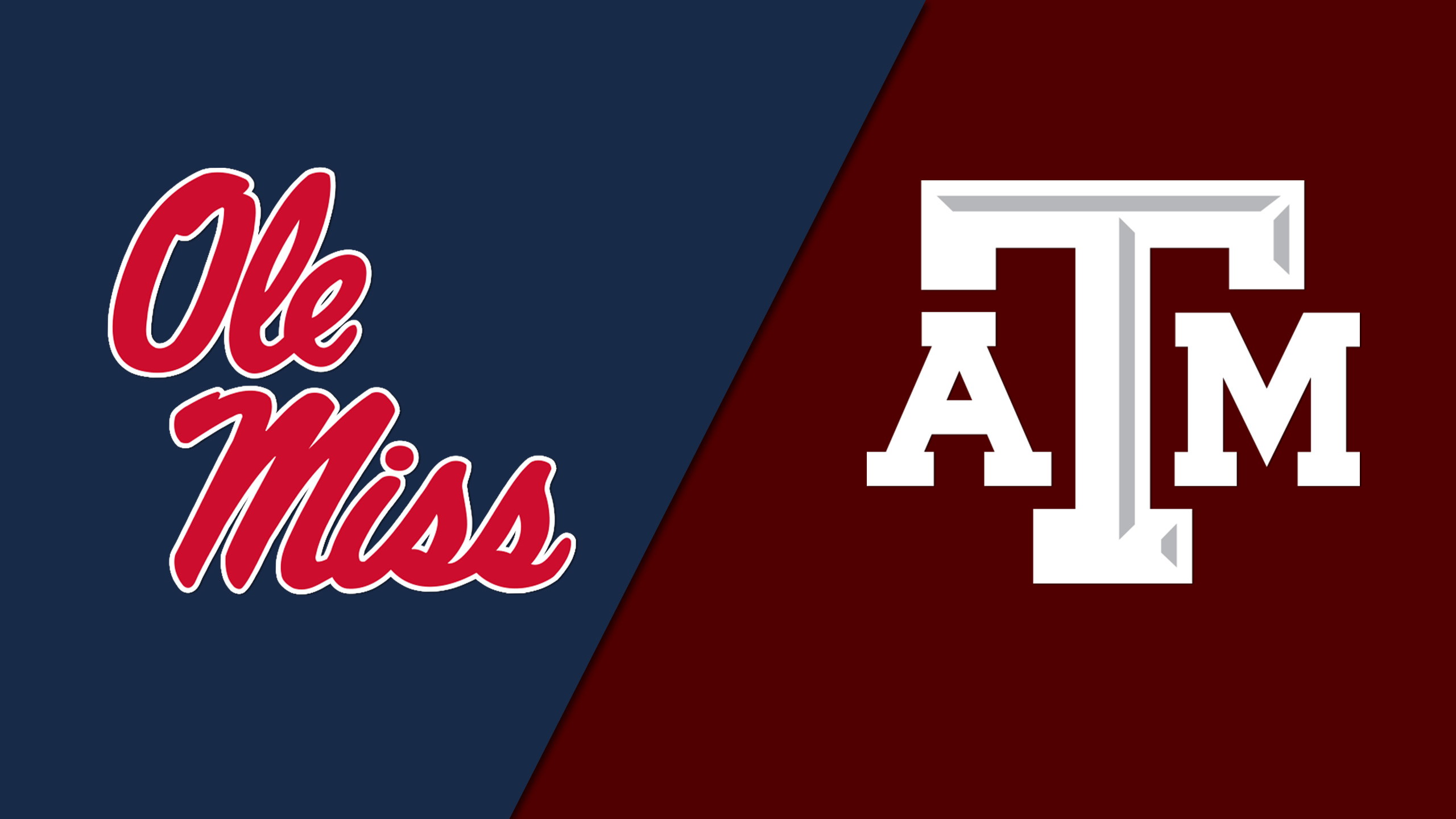 Ole Miss vs. Texas A&M (Football) (re-air)