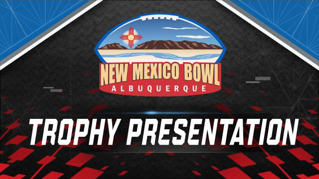 New Mexico Bowl Trophy Ceremony (Bowl Game)