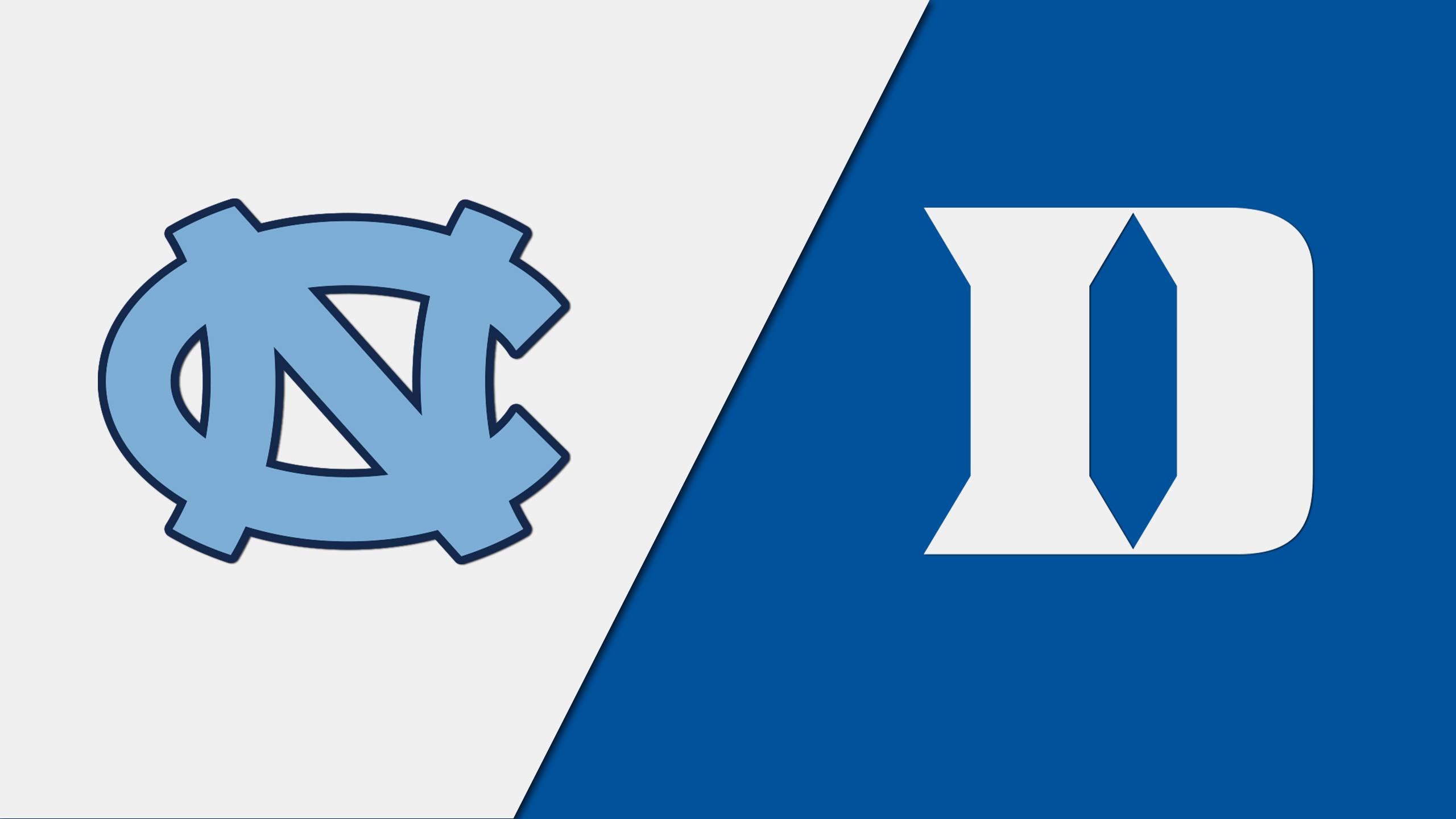 Layup Lines - #8 North Carolina vs. #1 Duke (M Basketball)
