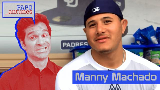 Papo Antunes #4 - Manny Machado fala sobre pressão por causa de seu alto contrato, relembra as raízes dominicanas e revela seus sonhos na MLB
