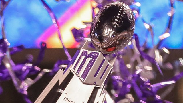 Mountain West Championship Game on ESPN Presented by PlayStation Trophy Ceremony (Football)