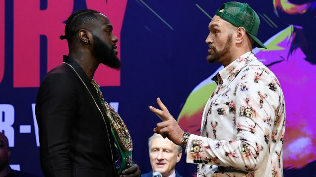 In Spanish-Wilder vs. Fury II Press Conference