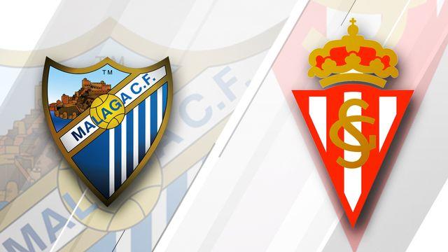 Malaga vs. Sporting Gijon