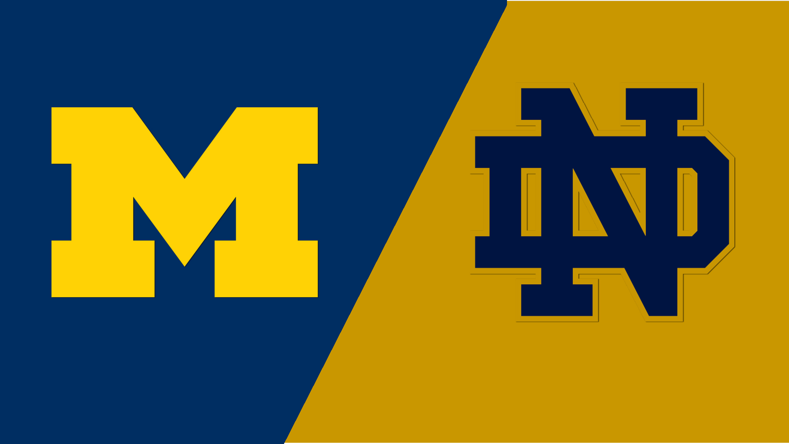 Michigan vs. #7 Notre Dame (Second Round) (NCAA Division I Men's Soccer Championship)