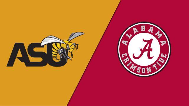 Alabama State vs. #8 Alabama (Site 15 / Game 2) (NCAA Softball Championship)