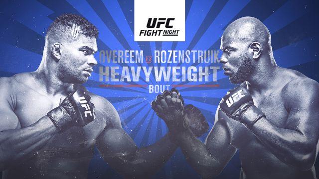 UFC Fight Night presented by Modelo: Overeem vs. Rozenstruik (Prelims)