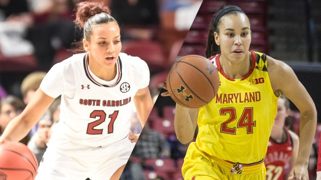 Sun, 11/10 - #8 South Carolina vs. #4 Maryland (W Basketball)