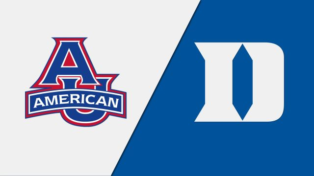 American vs. Duke (W Volleyball)