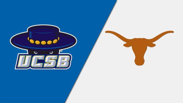 UC Santa Barbara vs. #2 Texas (NCAA Women's Volleyball Tournament)