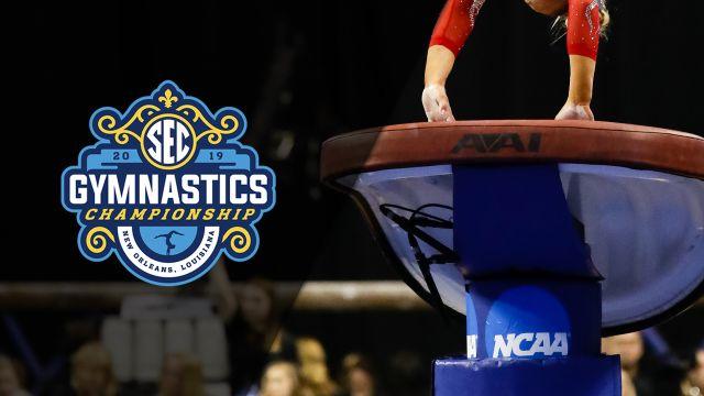 SEC Gymnastics Championship - Vault (Evening Session)