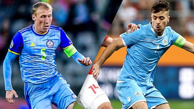 Kazakhstan vs. San Marino (UEFA European Qualifiers)
