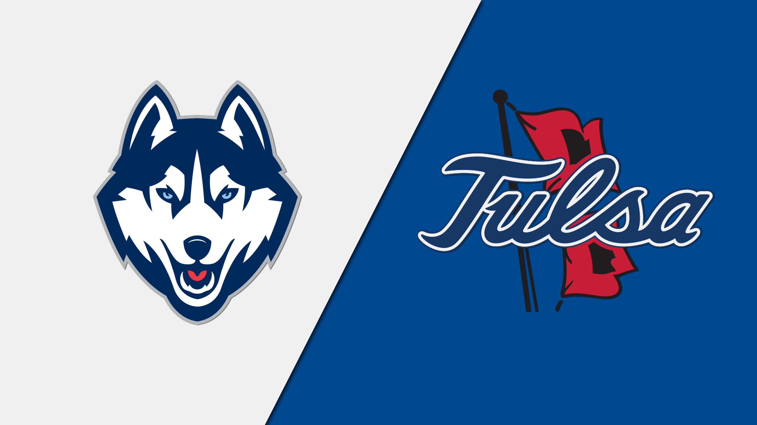 Connecticut vs. Tulsa (M Basketball) (re-air)