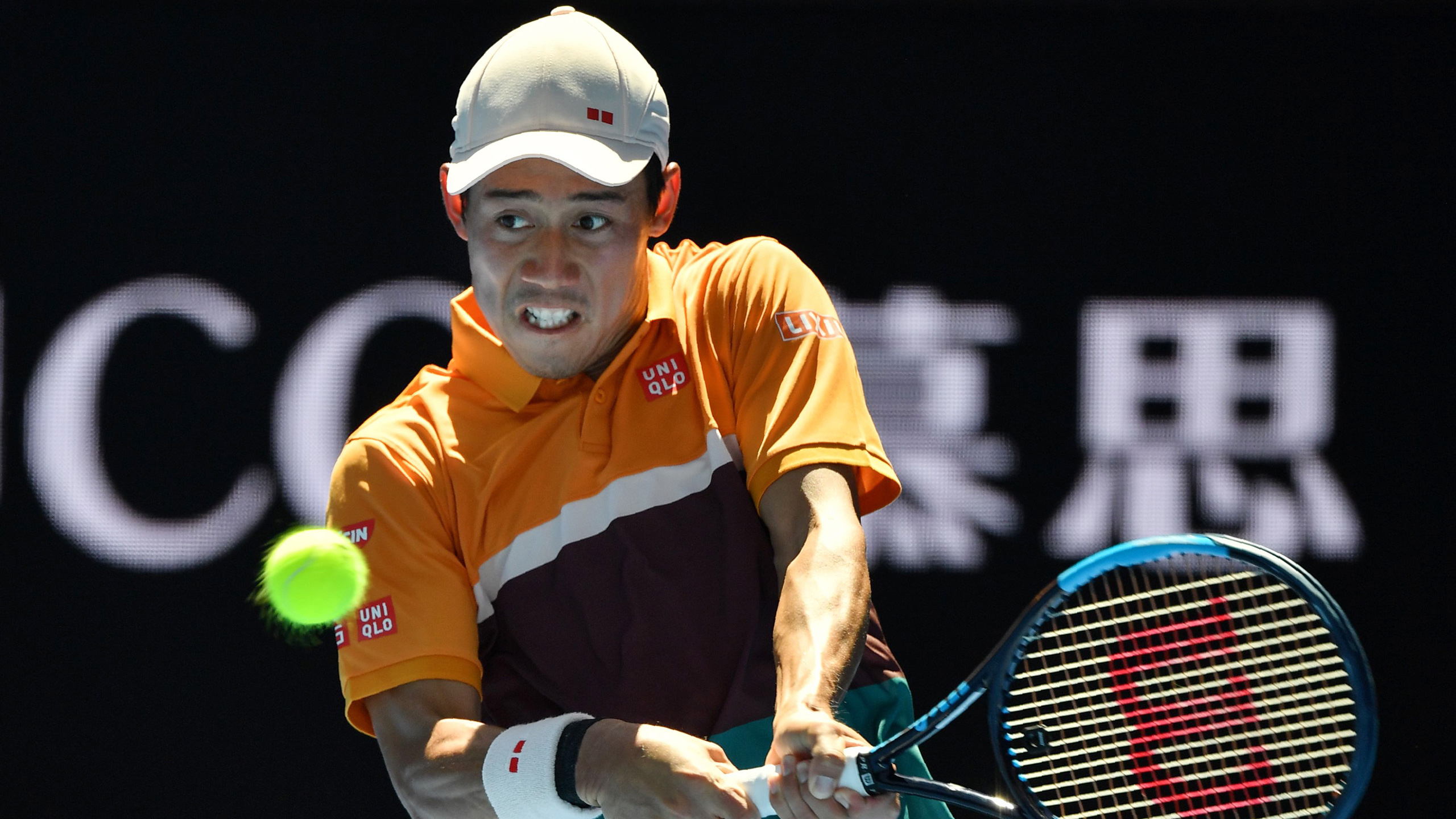 (8) Nishikori vs. (23) Carreno Busta (Men's Fourth Round)