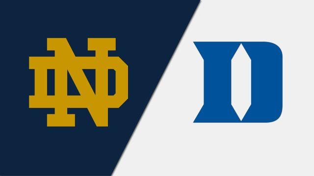 #11 Notre Dame vs. #3 Duke (Semifinal #2)