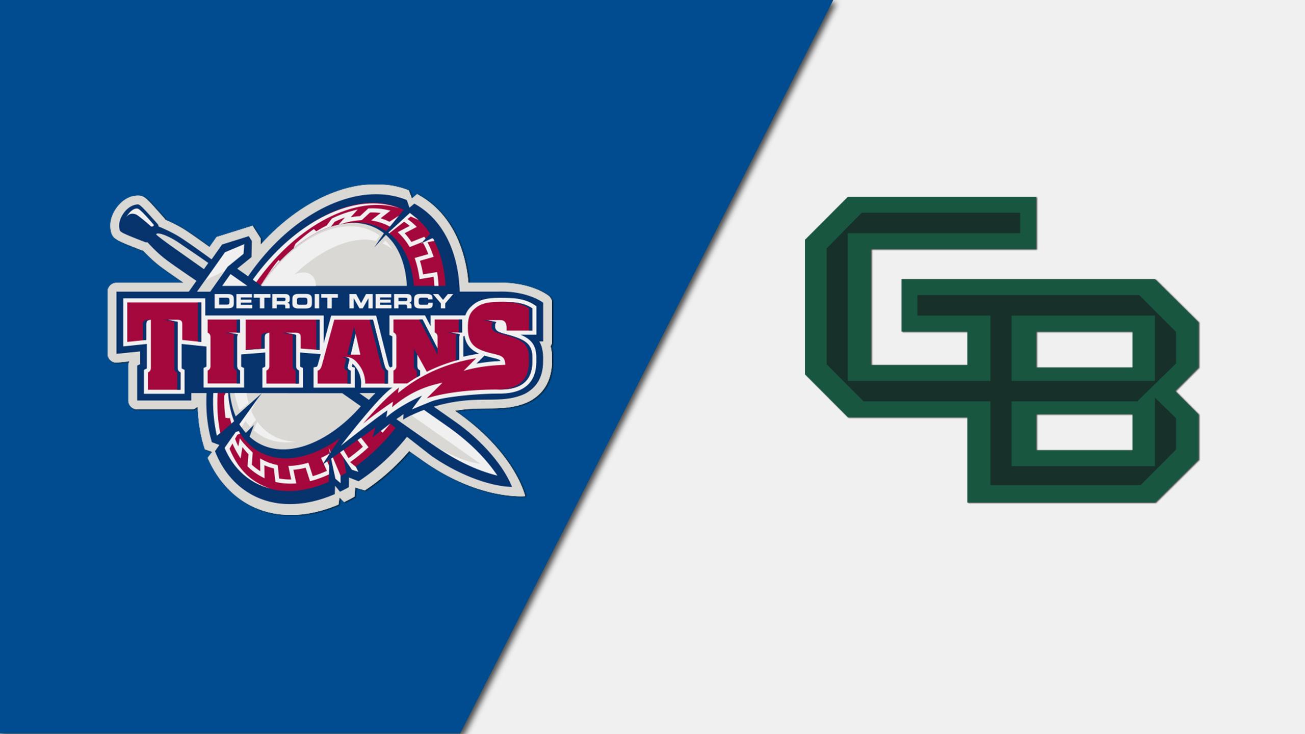 Detroit Mercy vs. Green Bay (M Basketball)