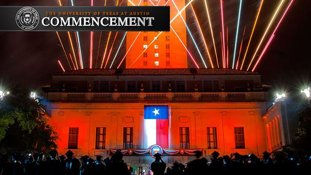 The University of Texas' 136h Spring Commencement