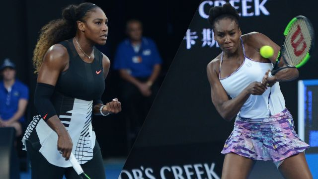 Serena Williams vs. Venus Williams (Women's Final)