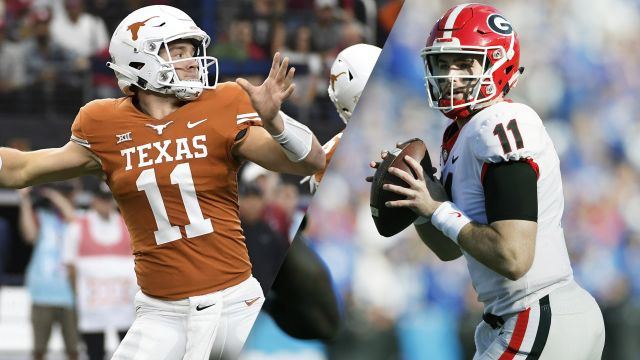 #15 Texas vs. #5 Georgia (re-air)