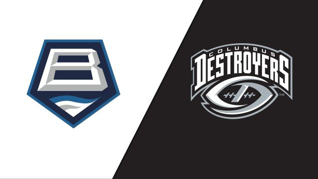 Baltimore Brigade vs. Columbus Destroyers
