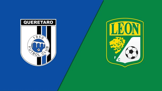Sat, 8/24 - In Spanish-Gallos Blancos de Querétaro vs. Club León (Jornada 6) (Liga MX)