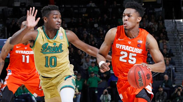 Notre Dame vs. Syracuse (M Basketball)