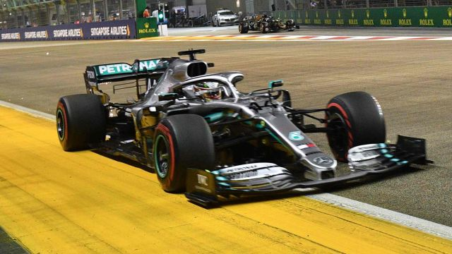 Sat, 9/14 - Formula 1 Singapore Airlines Singapore Grand Prix Qualifying