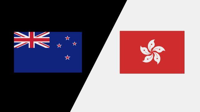 New Zealand vs. Hong Kong