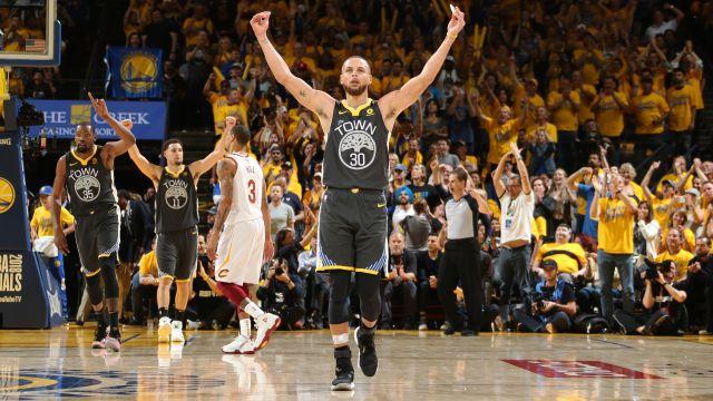Warriors abrem vantagem nas Finais da NBA