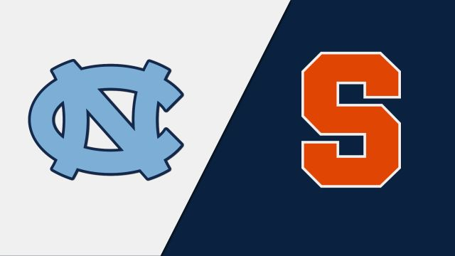 North Carolina vs. #7 Syracuse (First Round) (ACC Men's Lacrosse Championship)
