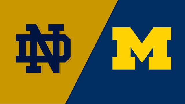 Sun, 9/22 - Notre Dame vs. Michigan (W Volleyball)