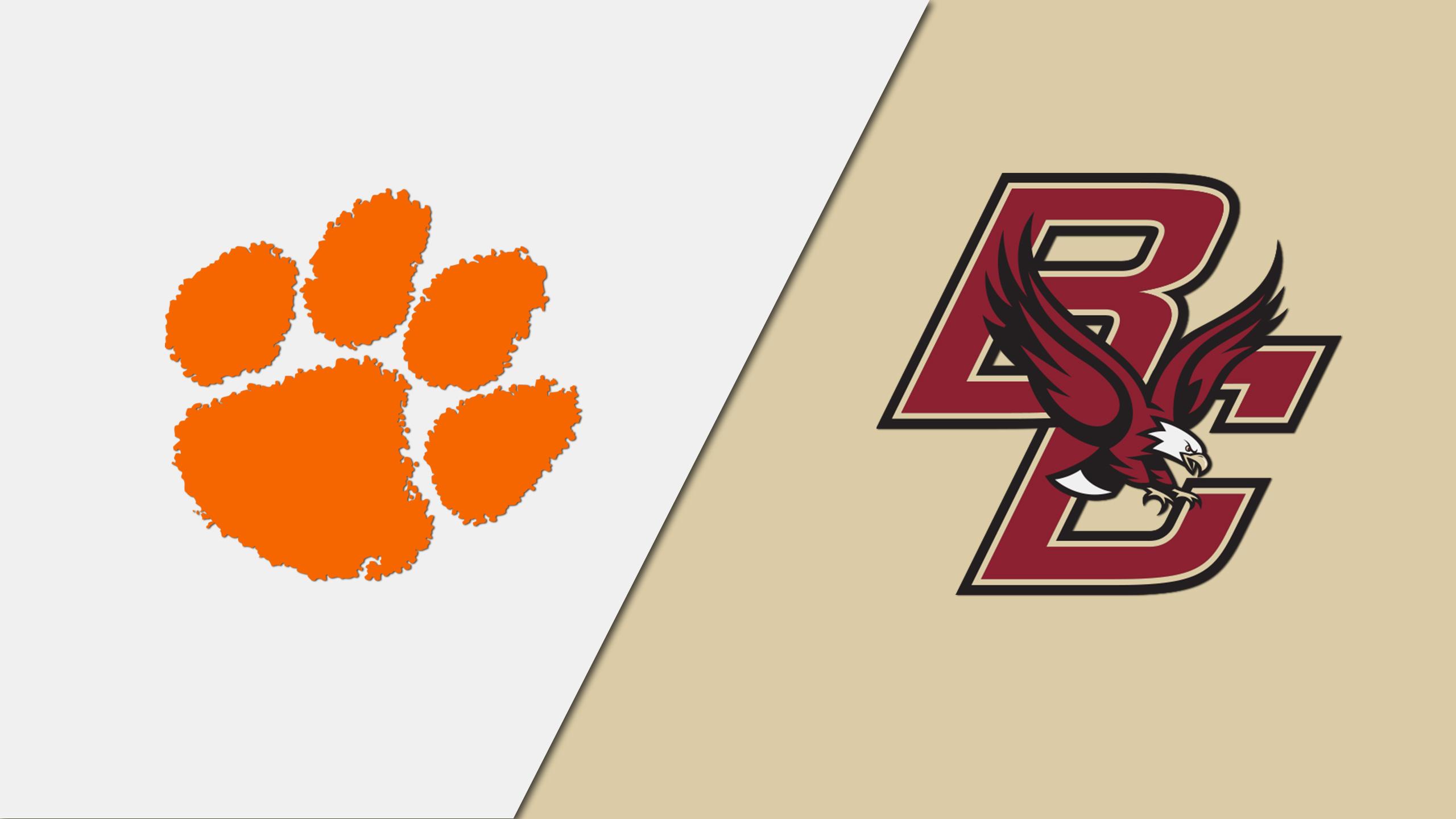 Clemson vs. Boston College (W Basketball)