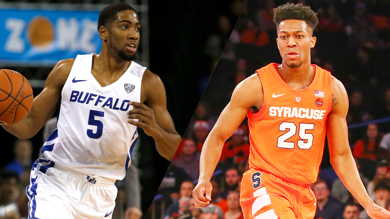 #14 Buffalo vs. Syracuse (M Basketball) (re-air)