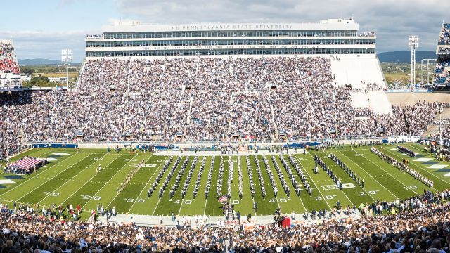 SkyCam: Michigan vs. Penn State (Football)