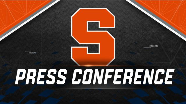 Syracuse Weekly Football Press Conference