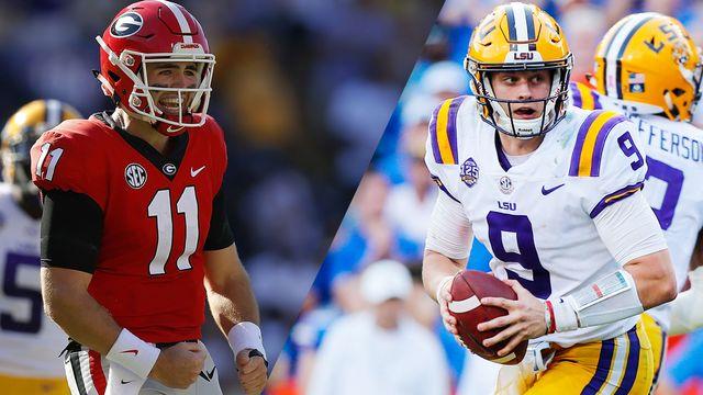 Georgia vs. LSU