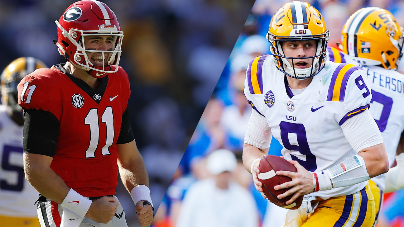 Georgia vs. LSU (Football) (re-air)