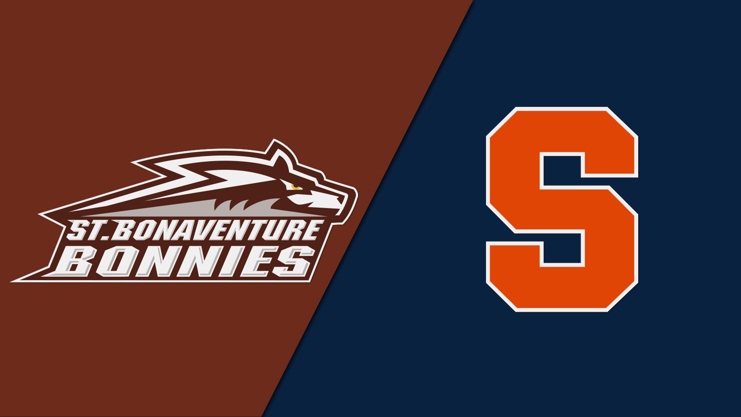St. Bonaventure vs. Syracuse (M Basketball)