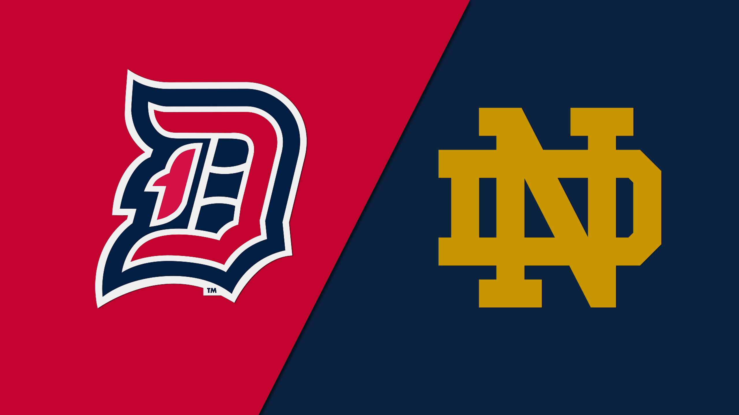 Duquesne vs. Notre Dame (M Basketball)