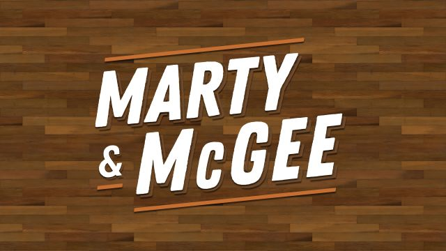 Wed, 10/16 - Marty & McGee